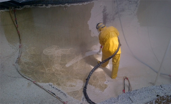 Our replaster process